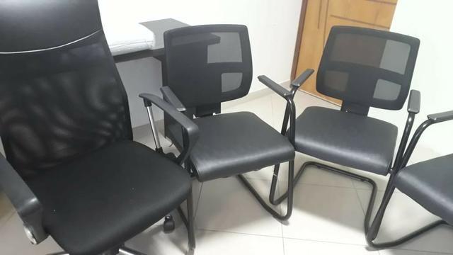 Cadeiras de escritorio *Aceitamos cartao - Foto 2