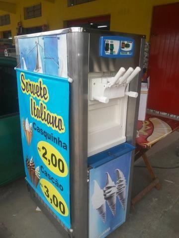 Maquina de sorvete italiano - Foto 2
