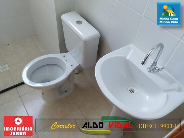 ARV 96 Apartamento Novo 2 Quartos, Condomínio Club. Carapebus, Serra - ES - Foto 11