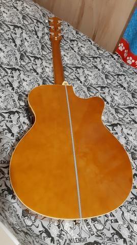 Vendo ou troco por play 3, violão tagima dallas para canhoto - Foto 4