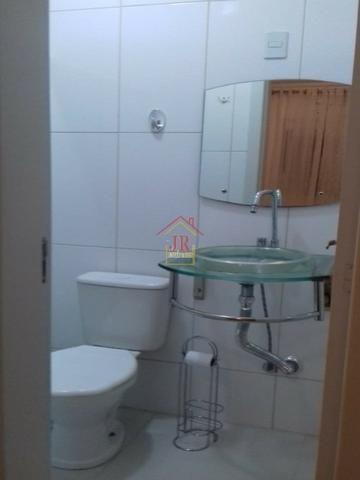 AL@-Apartamento mobiliado com 02 dormitórios com suíte + 01 banheiro social - Foto 2