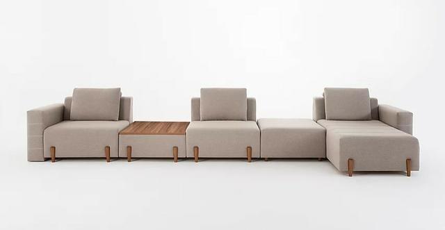 Confortável Sofá Modularizado composto conforme Ambiente- Solicite Orçamento!