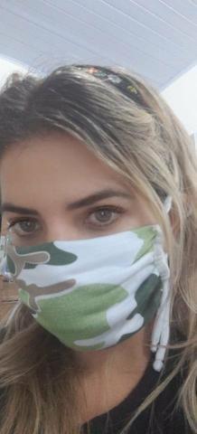 Mascaras de forro duplo (proteção corona) - Foto 2