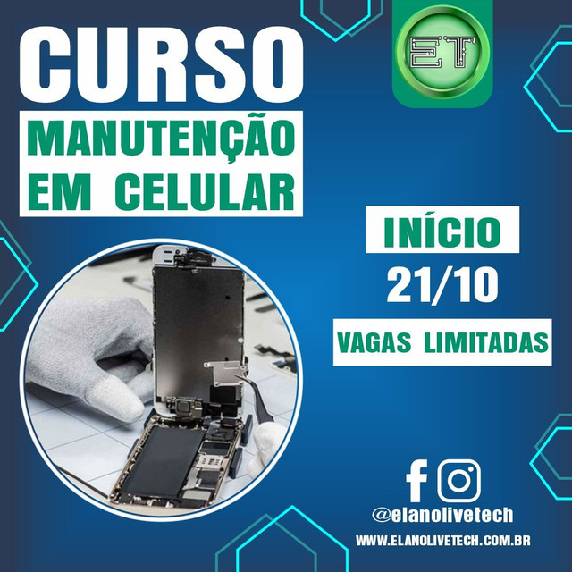 Curso de Conserto em celulares (Ji-Paraná)