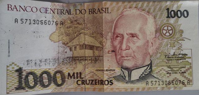 Nota de 1000 Cruzeiros para colecionadores