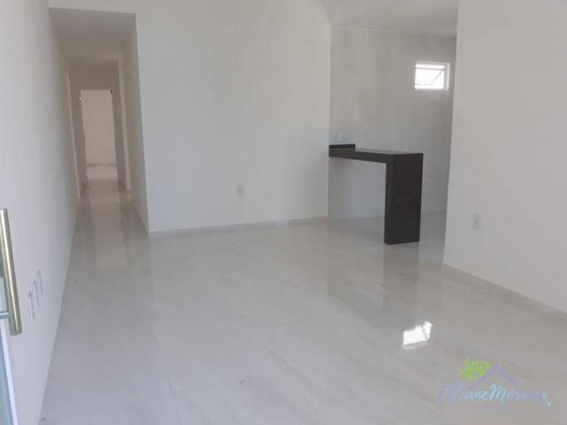 Casa com 3 dormitórios à venda, 85 m² por R$ 249.000,00 - Encantada - Eusébio/CE - Foto 5