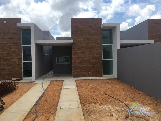 Casa à venda, 90 m² por R$ 259.000,00 - Encantada - Eusébio/CE