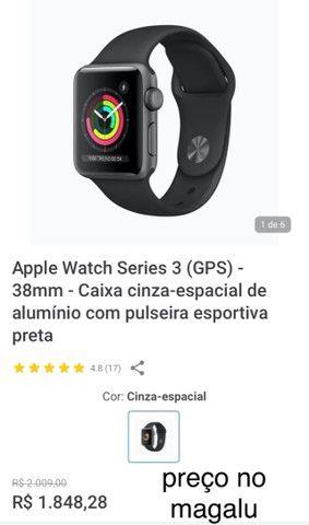 Apple Watch Series 3 38mm Lacrado na Caixa - Foto 6