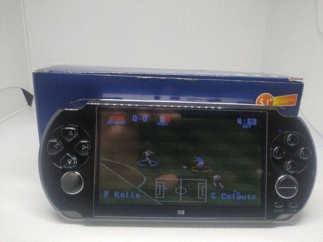Vídeo game portátil com mil jogos  - Foto 2