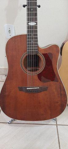 Violão Folk Strinberg Black Series Guitars - Foto 2
