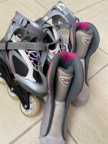 Patins roller in line importado USA powerblade - Foto 3