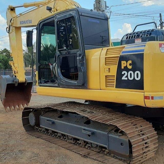 Escavadeira Hidráulica PC 200 - Foto 5