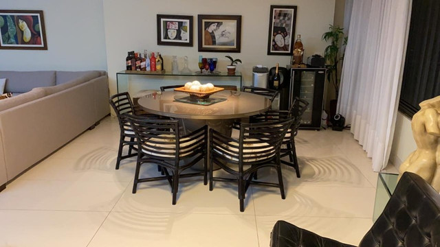 (RBA) Alugo apt. luxuoso, 240m², 3 Suítes, lazer, decorado e mobiliado, vista incrível! - Foto 6