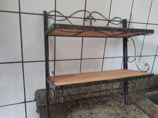 Organizador para cozinha de ferro forjado  - Foto 6