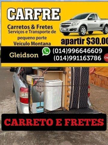 Carreto e frente R$ 30,00 Bauru sp - Foto 6