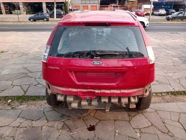 Sucata Peças Ford Fiesta zetec rocam completo compressor caixa - Foto 3
