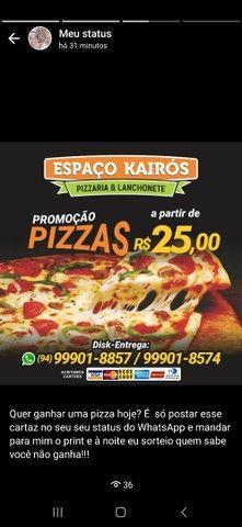 Pizzas G 8 pedaços 25 reais - Foto 6
