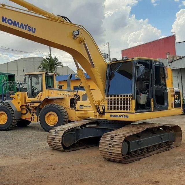 Escavadeira Hidráulica PC 200 - Foto 6