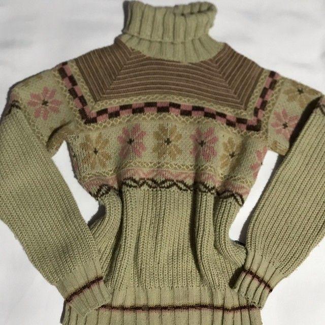 Blusa de lã mais grossinha  - Foto 3