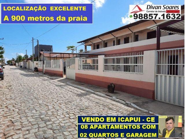 Vendo Prédio c/ 8 apartamentos, todos Alugados em Icapui  - Foto 6