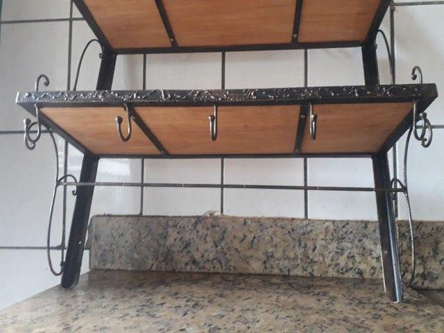 Organizador para cozinha de ferro forjado  - Foto 3