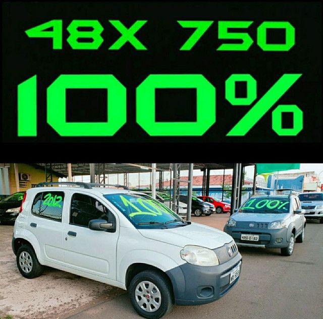 Uno vivace 2010 básico na promoção é na LUIZA automóveis