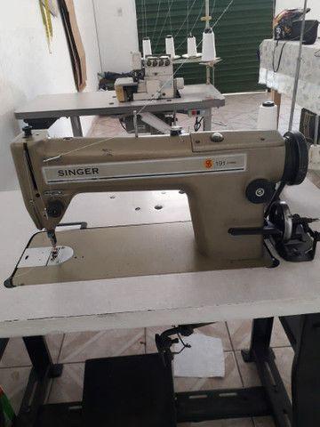 Maquina reta e máquina interlock industrial - Foto 2