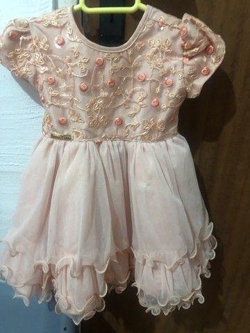 Vestido de luxo infantil - Foto 2