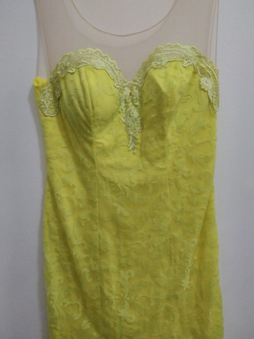 Vestido de festa Amarelo - Foto 2