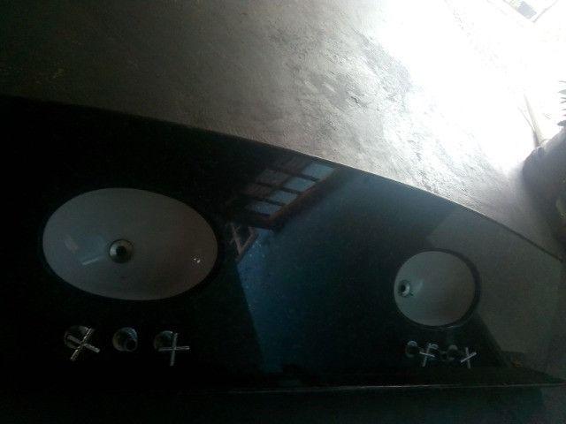 Pia de Banheiro duas cubas - Foto 3