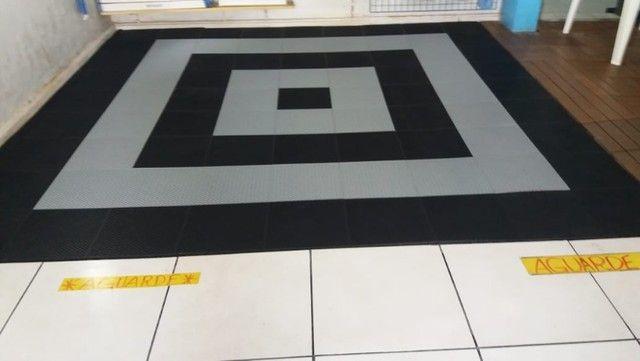 Pallet piso estrado decorado uso em geral - Foto 5