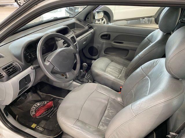 Renault Clio Completo 2 Portas 2011, Bancos Couro, Valor Repasse . - Foto 9