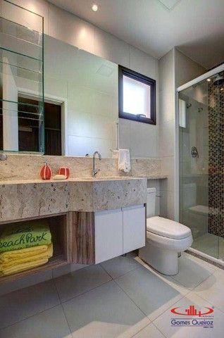 Apartamento todo MOBILIADO com 1 dormitório à venda, 39 m² por R$ 380.000 - Capuan - Cauca - Foto 8