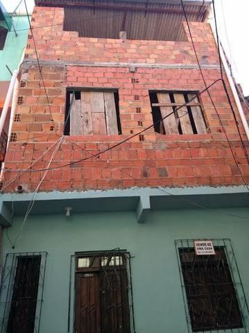 Casa térreo em são caetano 1 quarto sala, cozinha e banheiro,primeiro andar em contrução