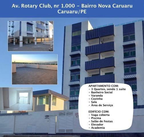 Excelente Apartamento Novo em Caruaru