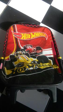 Vendo mochila da hotwheels