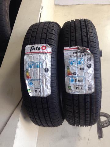 Par de pneus FateO 175/70R14 novos