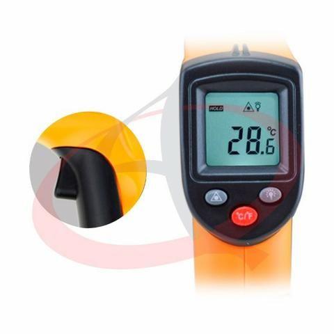 Termômetro Laser Digital Infravermelho Temperatura -50~380°c