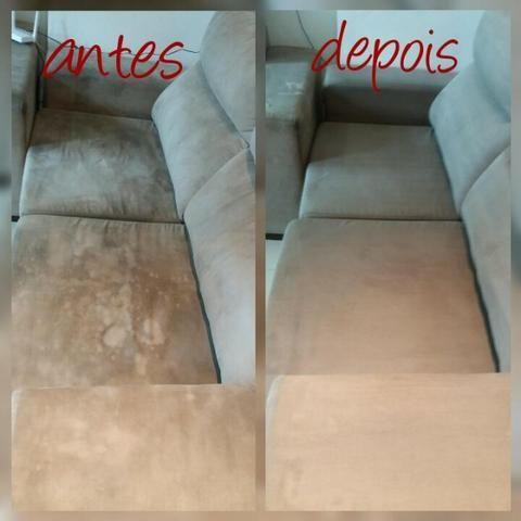 Limpeza e Impermeabilização de estofados - Foto 4