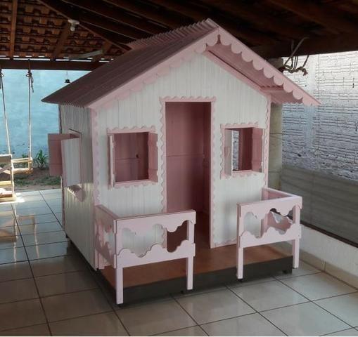 Casinha de Madeira Infantil - Foto 3