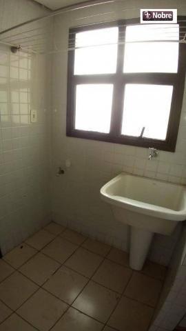 Apartamento com 3 dormitórios para alugar, 112 m² por r$ 1.405,00/mês - plano diretor sul  - Foto 17