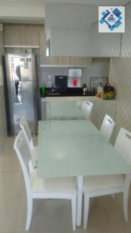 Apartamento com 3 dormitórios à venda, 72 m² por R$ 460.000,00 - Guararapes - Fortaleza/CE - Foto 12