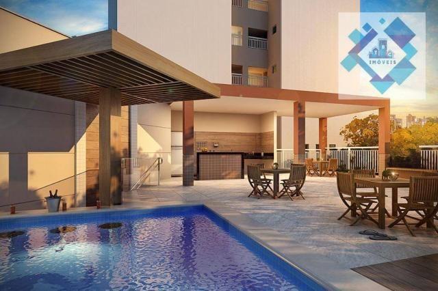 Apartamento com 3 dormitórios à venda, 68 m² - Benfica - Fortaleza/CE - Foto 3