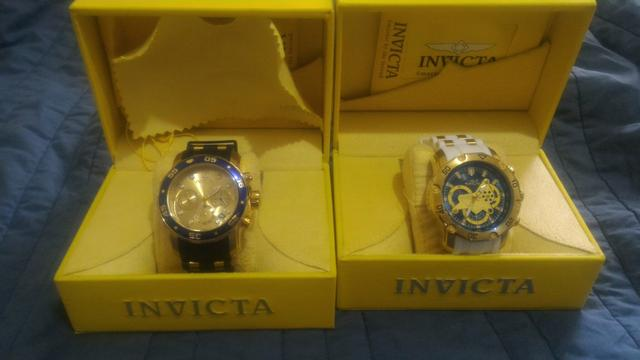 95637917f85 Vende-se 02 relógio invicta original super novos