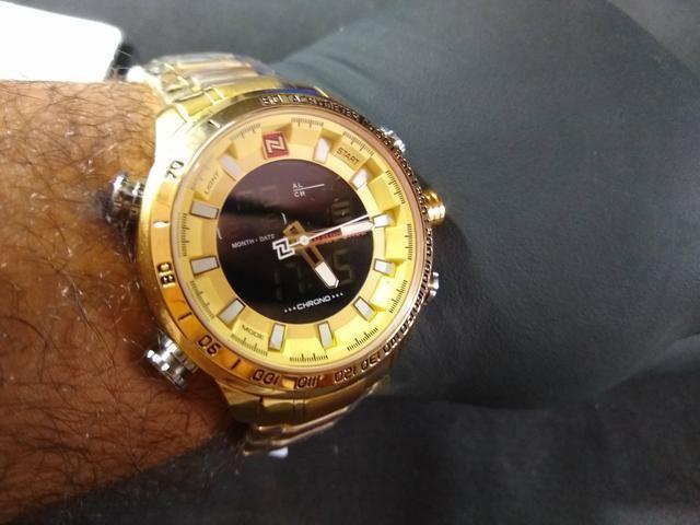 a75aeab96e2 Relógio Naviforce 9093 - Importado Original - Bijouterias