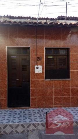 Casa residencial para locação, parangaba, fortaleza.