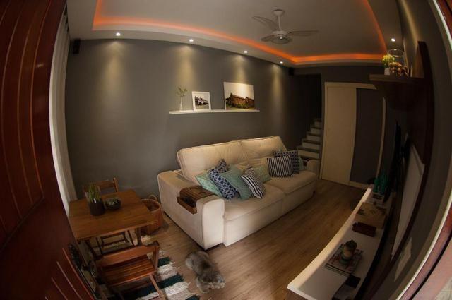 Vila da Penha Junto Shopping3000 Casa Duplex SemiLuxo Varanda 2Qts 2Banheiros 1vaga - Foto 3