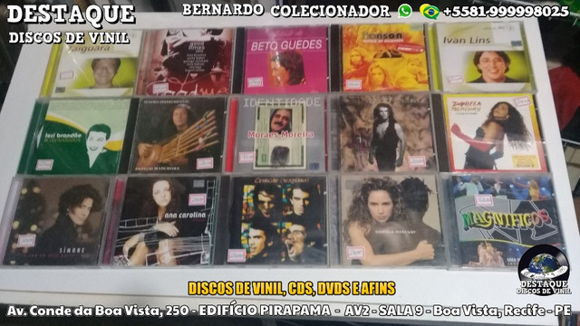 Discos de Vinil, CDs e DVDs, vários preços e gêneros - Foto 5