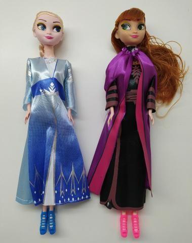 Kit De Bonecas Musicais Desenho Frozen Ana Elsa Artigos
