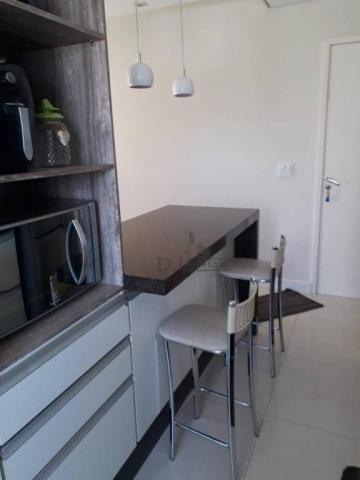 Apartamento com 3 dormitórios para alugar, 62 m² por R$ 1.100,00/mês - Jardim Myrian Morei - Foto 2